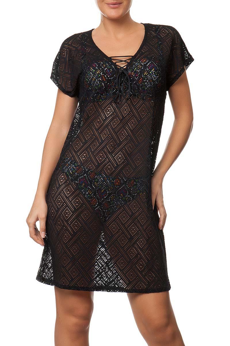 Šaty ANTIGEL (ESA15E9-02), Velikost 36, Barva černá