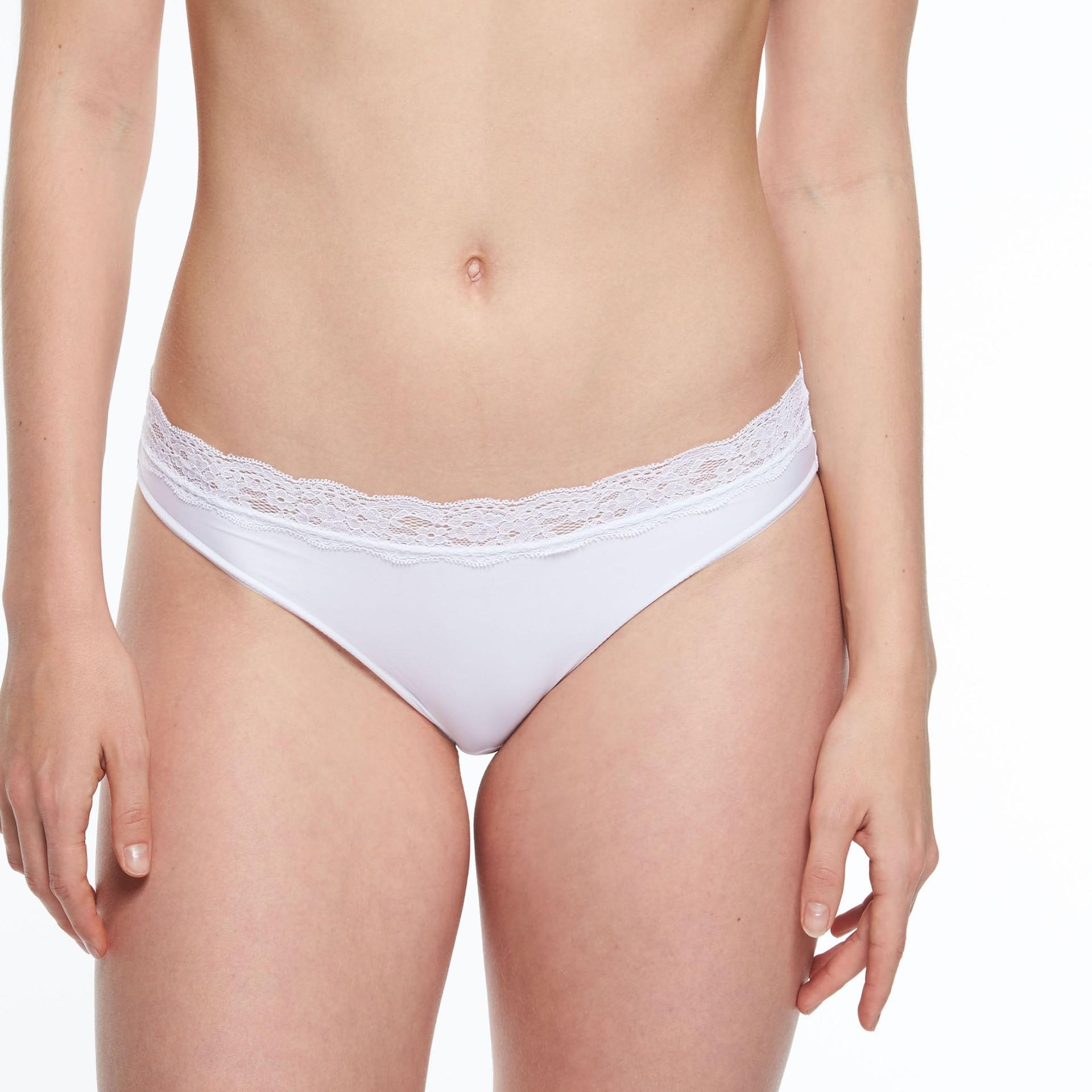 Kalhotky PASSIONATA (5703-01), Velikost 38, Barva bílá